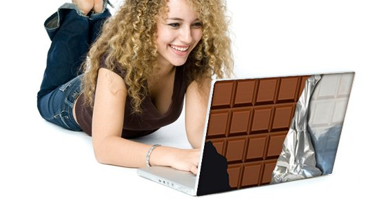 Choco Bar skins for laptops