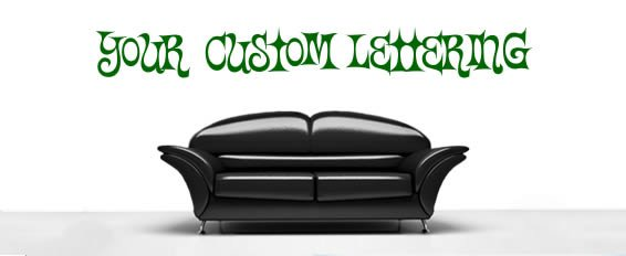 custom quotes, wording, alphabet wall decals