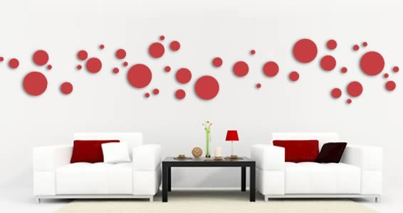 Dots Pack wall applique