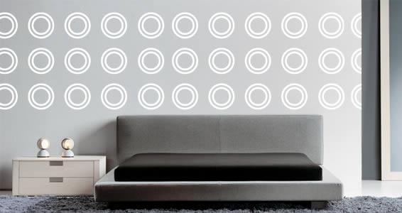 Ring Circles wall decals