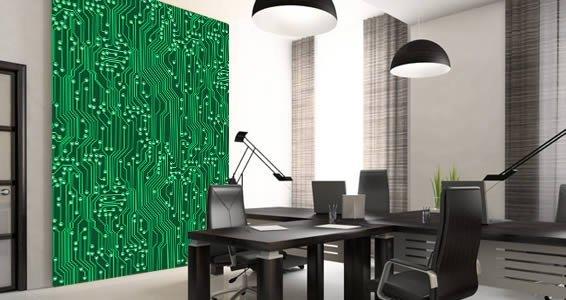 circuit board wall murals dezign with a z rh dezignwithaz com Circuit Board Table Circuit Board Art