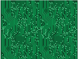 Circuit Board wall murals