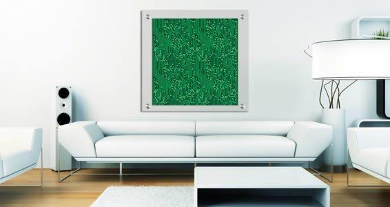 Green Geek Circuits Plexiglass Stand Off