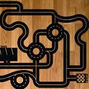 VroOOom! Floor Car Circuit decal