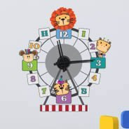 Circus Ferris Wheel clock decal ( with mechanism )