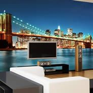 New York removable wall murals