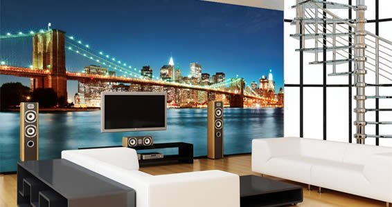 New York removable wall murals Dezign With a Z