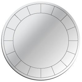 Classic Round wall mirrors