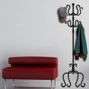 Classic Coat Rack wall decal