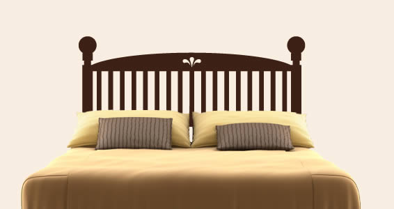 Classic Wood Headboard Wall Decal Dezign With A Z