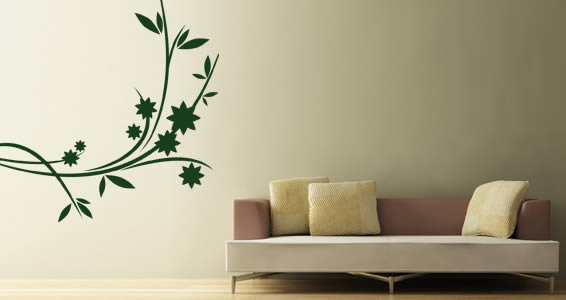 Flowers 15 flower wall decals