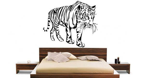 Tiger wall decals