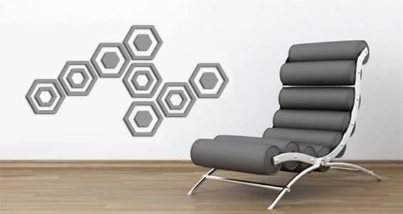 Classy Hexagon appliques