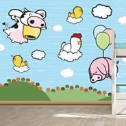 Cloud Farm wall murals