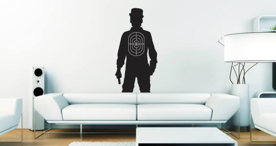 Gentil Clyde Target Wall Decals