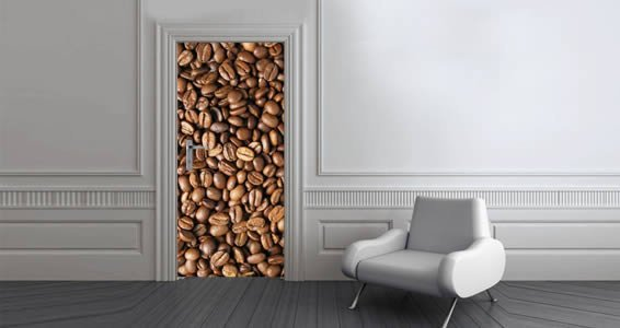 Coffee Beans Dry Erase Furniture Skin Decal