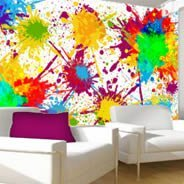 Color Splash wall murals