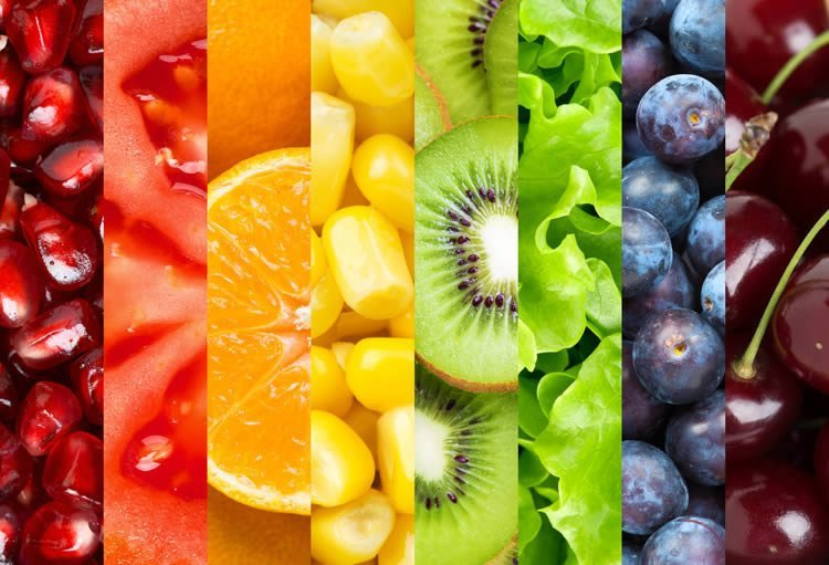 Colorful Fruits Wall Mural Dezign With A Z