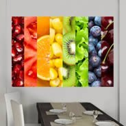 Colorful Fruits wall decals