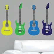 Colorful Guitars pack decals