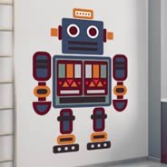 i-Robot wall decals