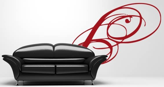Contemporary wall decals