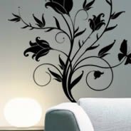Tulips flower wall decals