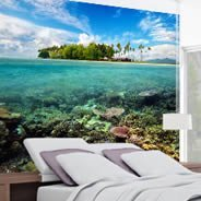 Coral Islands wall murals
