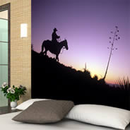 Cowboy wall papers