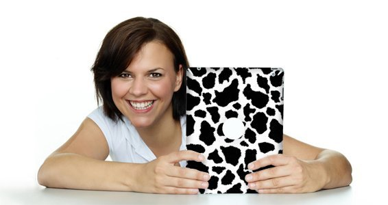 Cow  ipad decals skin