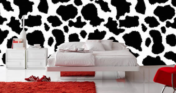 Cow wall decals Furniture Skin
