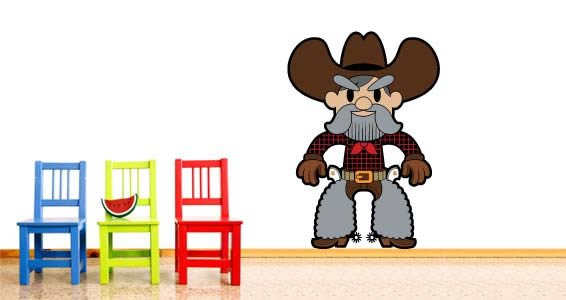 Cowboys wall decals