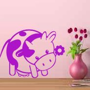 Cutie Cows wall stickers