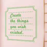 Create wall quote decals