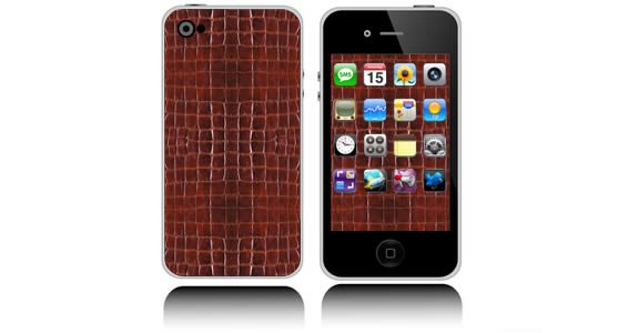 Crocodile iPhone decals skin
