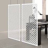 Crosshatch Design Dividers