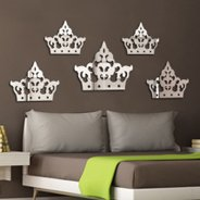 Crown acrylic mirror pack