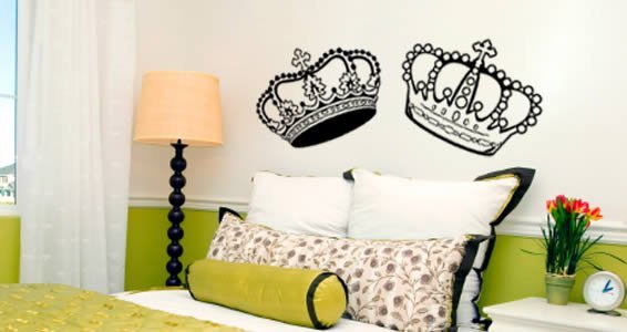 A Crown Affair... wall decals