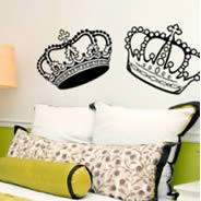 A Crown Affair... wall decals