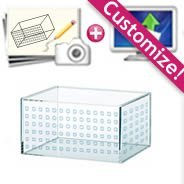 Custom Clear Plexiglass Box with Holes