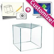 Custom Plexiglass Box with Lid