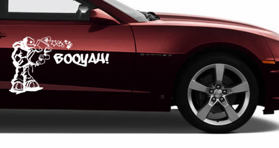 Custom Car Oueche Pelo Decals Dezign With A Z - Customized car decals and graphics