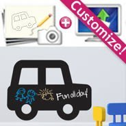 Customize your own Chalkboard Decal