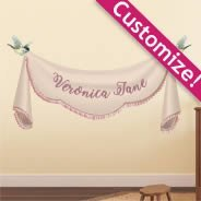 Custom Cloth Banner wall decals