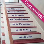 Custom Graphics for Stairs