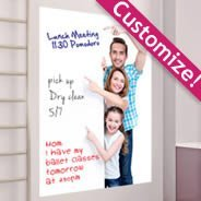 Customize your own Dry-Erase Wall Decal