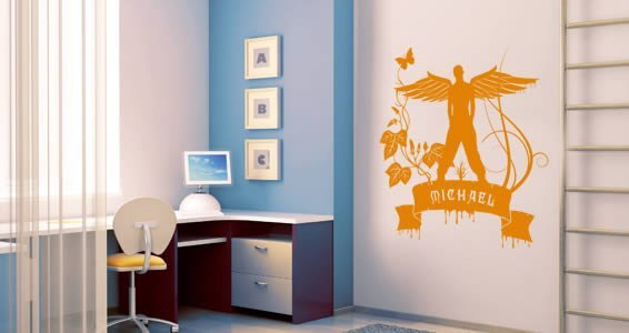 Custom I Believe I can fly...wall decals