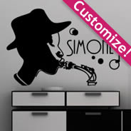 All That Jazz custom wall decals