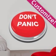 Custom Panic Button wall decals