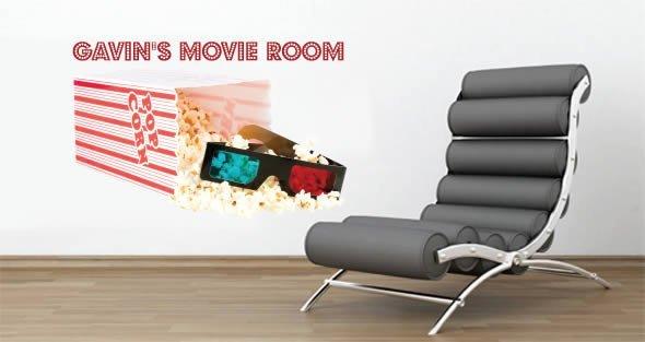 Custom Movie Popcorn decal
